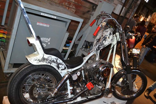"""The Shop Vancouver's """"69ish"""" Harley."""