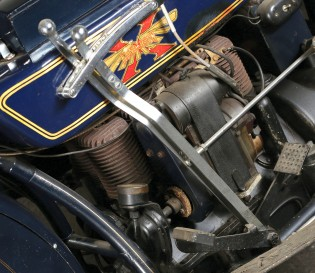 The 1925 Henderson benefited from three-ring alloy pistons, plus redesigned cylinders and camshaft.