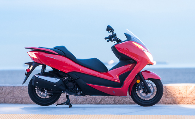 2015 honda forza review the scootering sweet spot according to honda