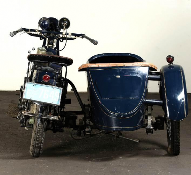 Henderson Four and Watsonian sidecar