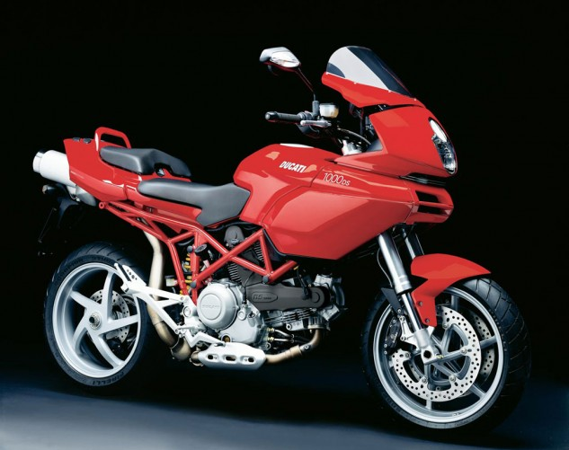 In 2006 some said Terblanche's original Multistrada design was ahead of its time. Well, it's nine years later, and the 1000DS remains fugly.