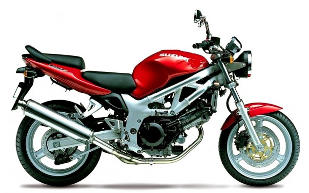 Maybe the most honest production motorcycle of all time (and its review is my favorite MO article, too), the first-gen Suzuki SV650 hides nothing and delivers on its visual promise of good performance and handling. If only it had a dent-resistant tank…