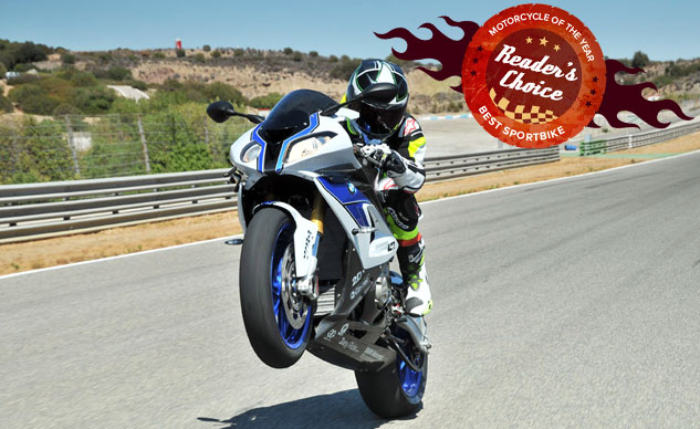 Bmw Sport Bike >> Reader S Choice Best Sportbike Of 2015 Bmw Hp4