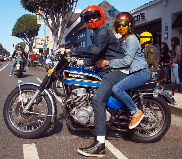 You still meet the nicest people on a vintage Honda…