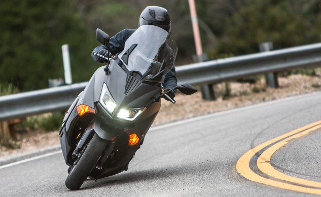 2015 Yamaha TMAX Review