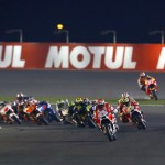 A Ducati in front and the number 93 way out in the car park. The Qatar MotoGP race was anything but predictable.