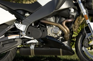 No clearer example of mass centralization exists than the location of a Buell exhaust system. Come to think of it, Gabe's widening belly is a good example too.