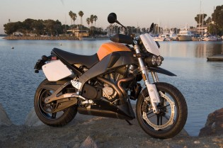 The new Buell Lighting Super TT XB12STT. It doesn't float.