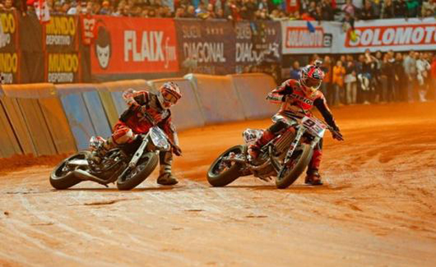 Previously the domain of American riders, Marc Marquez is helping make dirt track popular on the global scale.