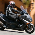 Immediate acceleration from a stop makes the TMAX a great around town mount.