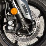 The only way to improve the TMAX's brakes would be to add ABS.