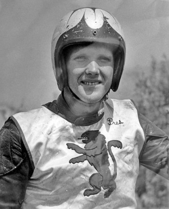 Preston Petty became a top Southern California motorcycle racer by honing his skills while trail riding in the Santa Monica Mountains near his home. Photo from Preston Petty Collection