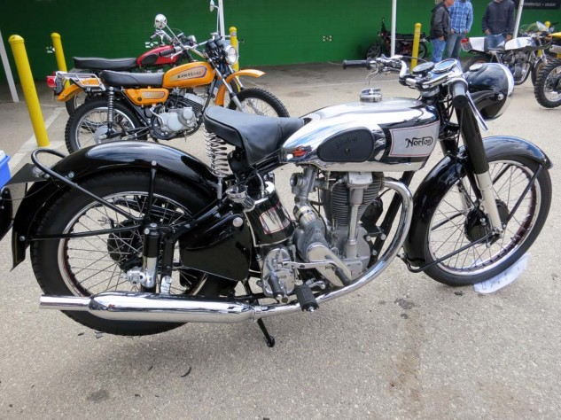 Best of Show went to the 1938 Norton International owned by Bob Ives.