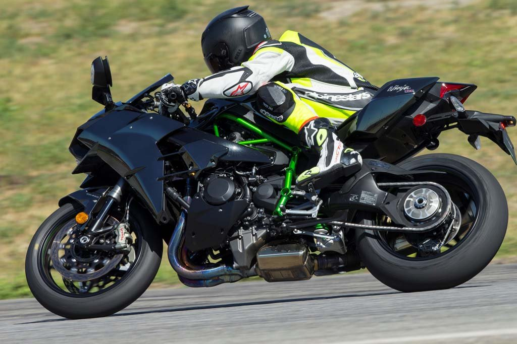 Download Image of Riding Kawasakis Supercharged H2h2r Rickey ...