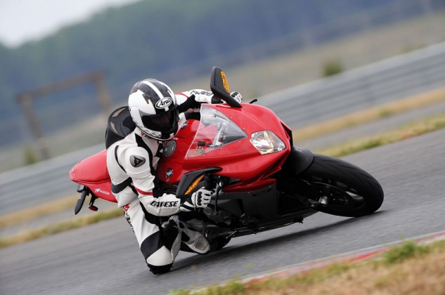 Not really scenic, but NJMP's Thunderbolt track offers a good challenge for track riders on the East Coast.