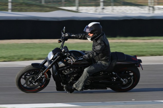 Riding a Harley around a MotoGP racetrack - something I didn't anticipate I'd have on my motorcycle resume.