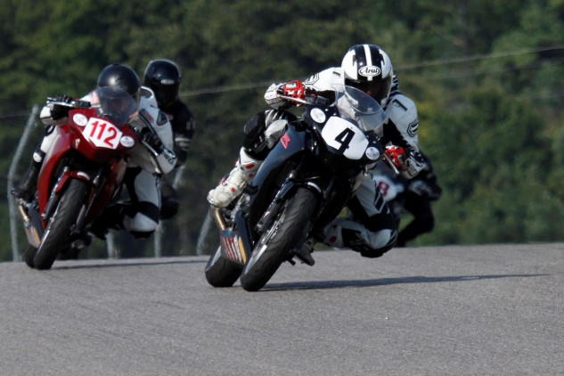 Mosport is a classic venue that deserves its legendary reputation. I was channeling my inner Hailwood! Photo by Don Empey.