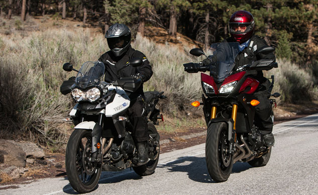 Three Cylinder Sport Adventure Comparison Moderation In All Adventurers