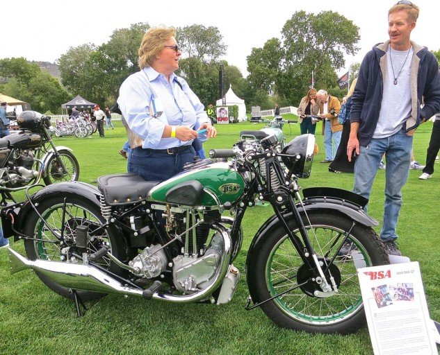 Originally owned by a sheep rancher in Australia, the 1936 BSA sat by a shed for 64 years. The restoration won Brent Lenehan second-place British bike.