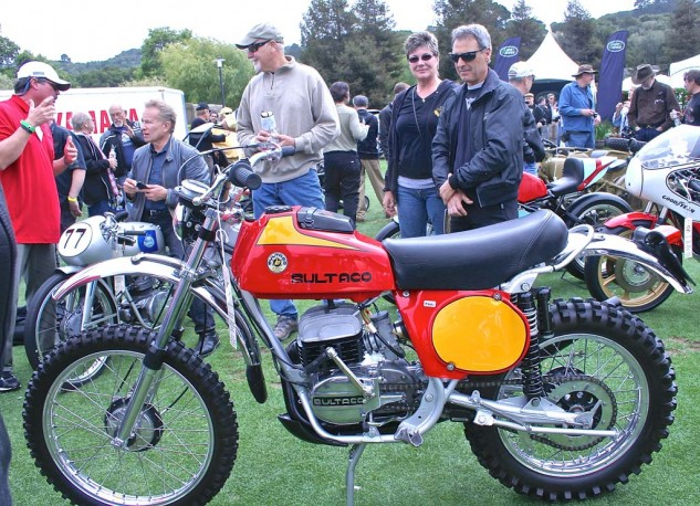 A 1975 Bultaco Frontera 250 owned by Chris Miller took top honors in the Other European class.