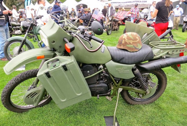 Rotax/Harley-Davidson military bikes were conceived by off-road expert and current high-mileage diesel builder Fred Hayes.