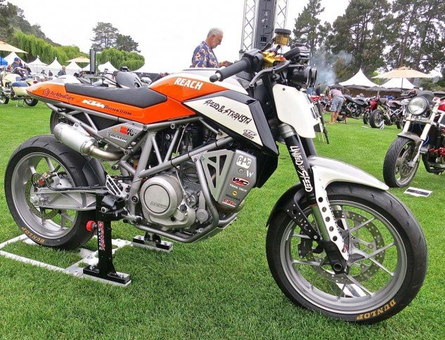 For another take on the big KTM single, this is Darrell Schneider's 2013 690 Duke.