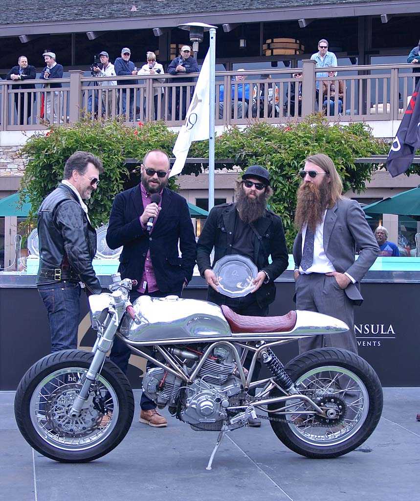 Revival Motorcycles of Texas took the Industry Award with their 1997 Ducati Custom J63.
