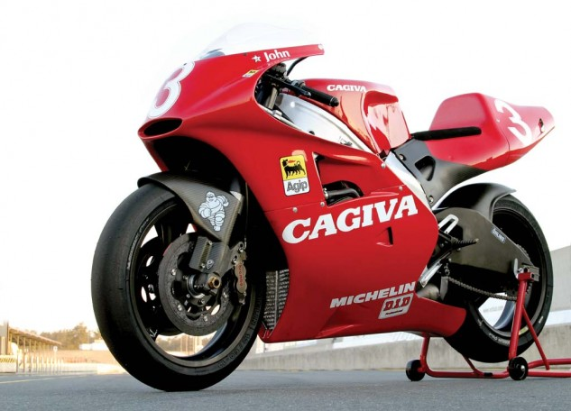 From any angle the Cagiva 500 looked better than any 500 in history.