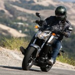 The Honda may have the least power, but it also has the least weight along with the best brakes and chassis, and that makes it the easiest to ride pretty quickly on backroads.