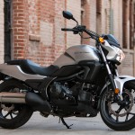 """""""I thought the Honda would finish last. All it took was the ride down from Burbank to Santa Ana to realize I was wrong. No one area stands out (except maybe fuel mileage), but it's a very good motorcycle. If I could sum up the CTX in one word, it'd be """"smooth."""" It hardly vibrates and the ride is really comfortable."""" –T. Siahaan"""