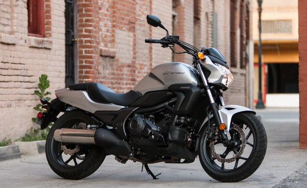 """I thought the Honda would finish last. All it took was the ride down from Burbank to Santa Ana to realize I was wrong. No one area stands out (except maybe fuel mileage), but it's a very good motorcycle. If I could sum up the CTX in one word, it'd be ""smooth."" It hardly vibrates and the ride is really comfortable."" –T. Siahaan"