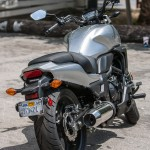 """The CTX is the most polished, comfortable and easiest-riding package. Some say """"appliance-like"""" as if it's a bad thing. And even if you ordered up the Dual Clutch auto transmission/ABS option, MSRP $7,599, it's still a little cheaper than the Harley."""