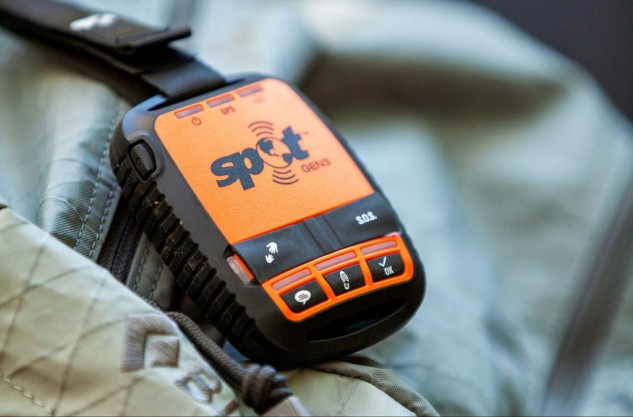 Keep in contact with your dad while he's out of his motorcycle trips with a SPOT Gen3, a potentially invaluable lifeline in an emergency.