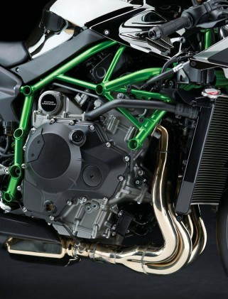 When Kawasaki's top minds come together to create a landmark motorcycle, the engine powering it better be something special. The Ninja H2 and H2R doesn't disappoint.