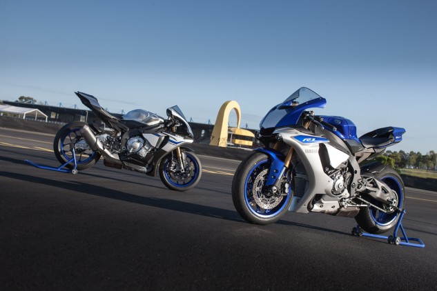 Yamaha's new R1 and R1M bring technology to the roads that was only introduced in MotoGP three years ago!