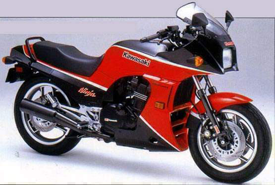 Kawasaki's Ninja 900 was bought by people with good taste, people who before might've had very bad taste.