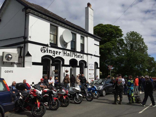 Ginger Hall: A great pub, a greater TT viewing spot, and the greatest Manx cakes, courtesy of Granny Cain.