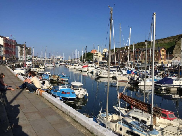 In the brilliant sunshine and warm temperatures of the 2015 TT, lined with bars and restaurants, North Quay in Douglas felt more like Sausalito than the IoM.