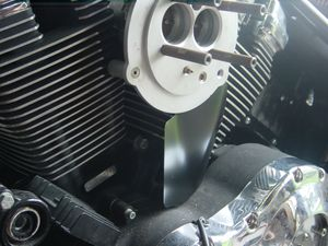 This is the X-Man throttle body bracket assembly. Nice stuff.