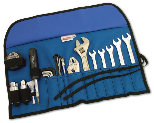 Factory tool kits are limited in scope and cheap in construction. Consider replacing it with one of the several offered by the aftermarket, like this one from CruzTools.