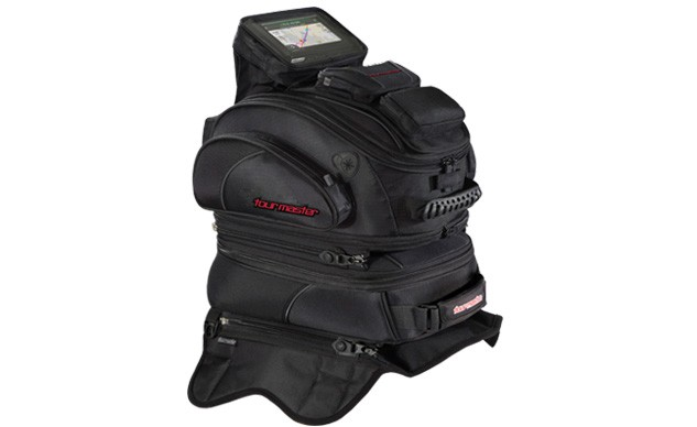 Tourmaster proves you don't have to carry your gear on the back of your bike.
