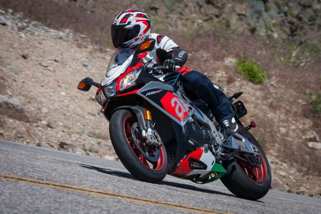 Sandwiched by two bikes with semi-active suspension, the old-school twisty knob Öhlins on the Aprilia were still highly praised. Testers also agree that the Aprilia is the equal to, if not better than, the Ducati in emotional satisfaction.