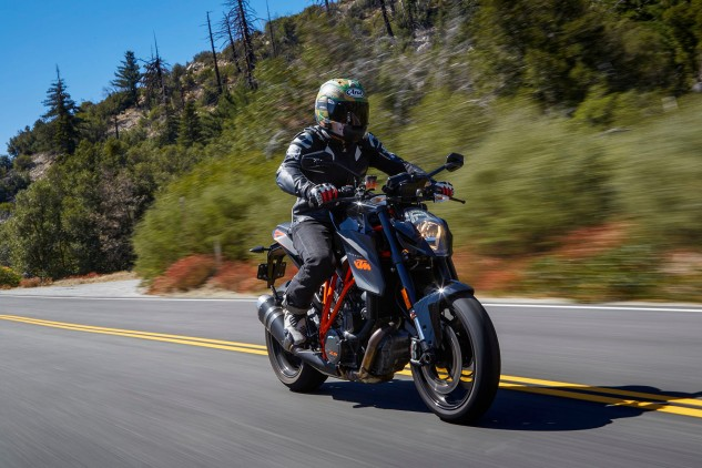 What's not to love about the KTM Super Duke R? It's shockingly powerful, blisteringly fast, and best of all, it's all-day comfortable!