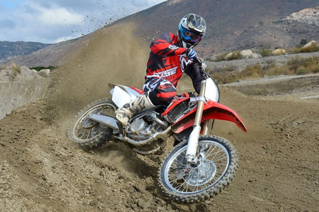 With just a couple minor tweaks, the 2016 Honda CRF450R feels faster than its predecessor despite having the exact same motor specs the 2015 model.