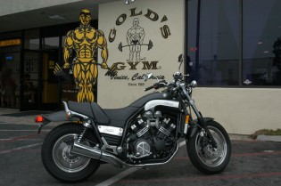 """When someone says """"musclebike"""" the V-Max should jump to the forefront of your mind."""