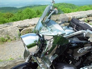 There are a ton of accessories available through Yamaha's Star Accessories Catalog, the one I recomend most, is this short windscreen for the Tour Deluxe.