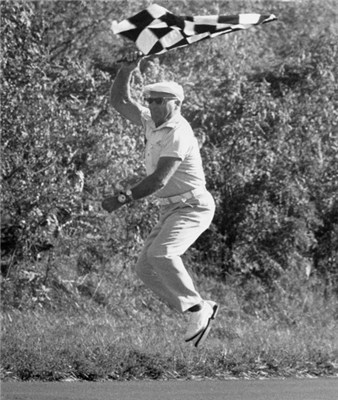"""""""Airborne"""" Al Wilcox, a gift, a life dedicated to racers and racing, and an example to generations of racers."""