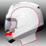 Arai Corsair-X chin bar