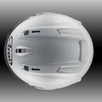 Arai Corsair-X top view