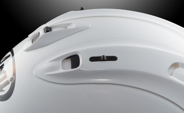 Arai Corsair-X top vents